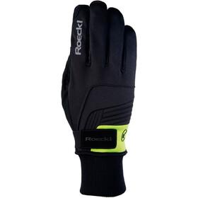 Roeckl Rebelva Handschuhe schwarz/gelb
